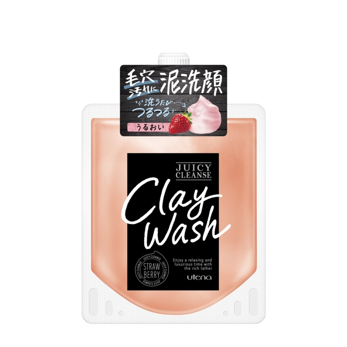Juicy Cleanse Facial Wash Strawberry110g