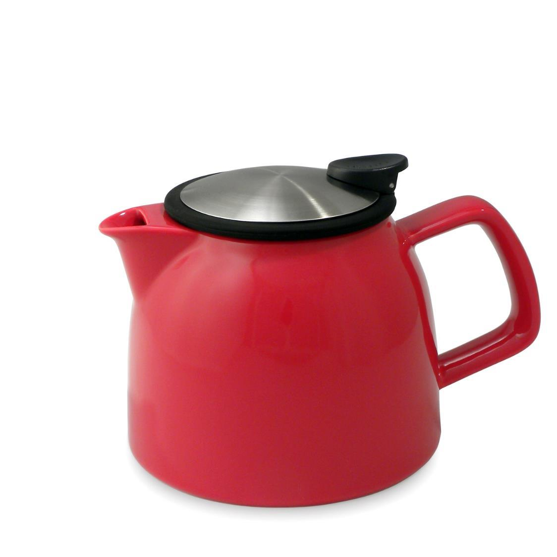 Bell Teapot with Basket Infuser 770ml FL544-RED