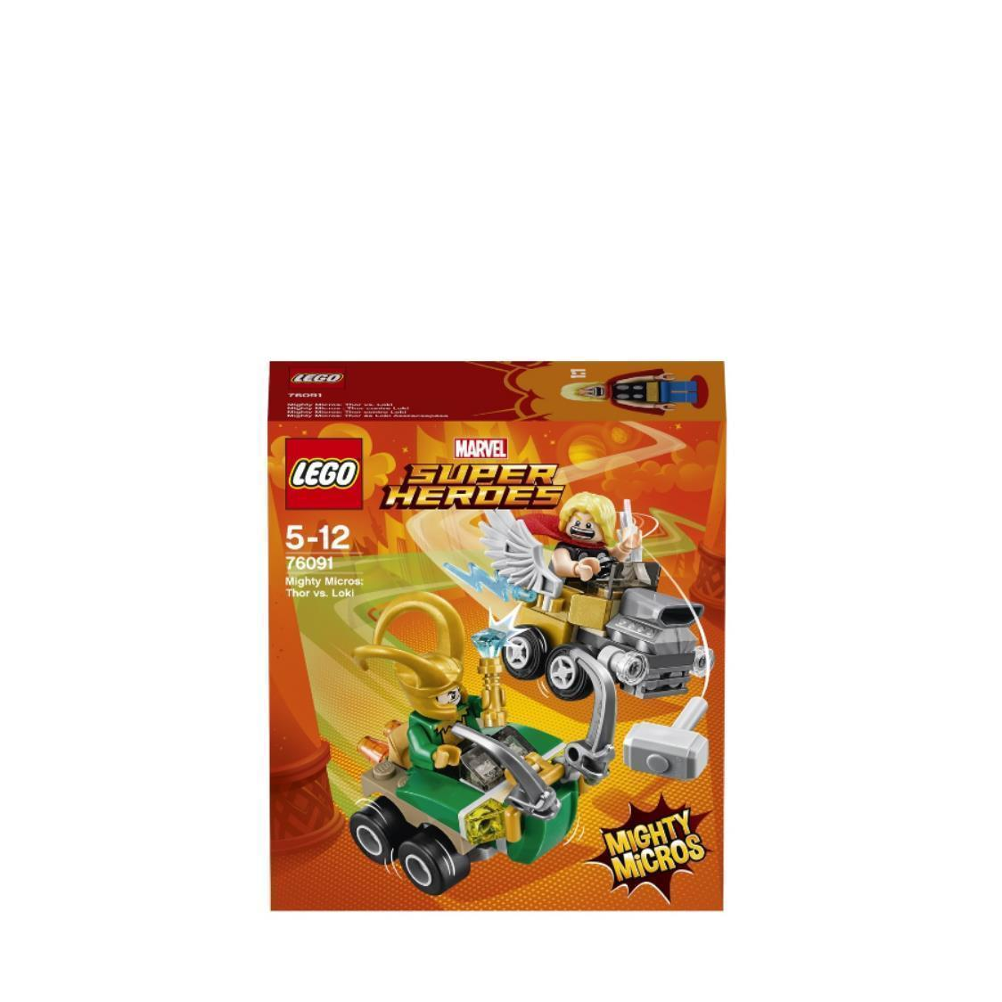 Mighty Micros Thor Vs Loki 76091