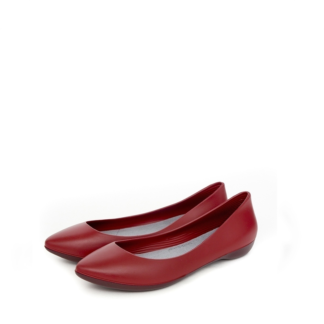 F2 Flat-Pointed Heel height 2cm Denim Red