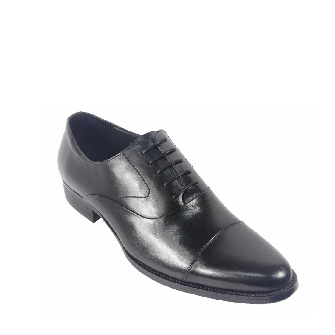 Men Oxford Lace Up Shoes in Black