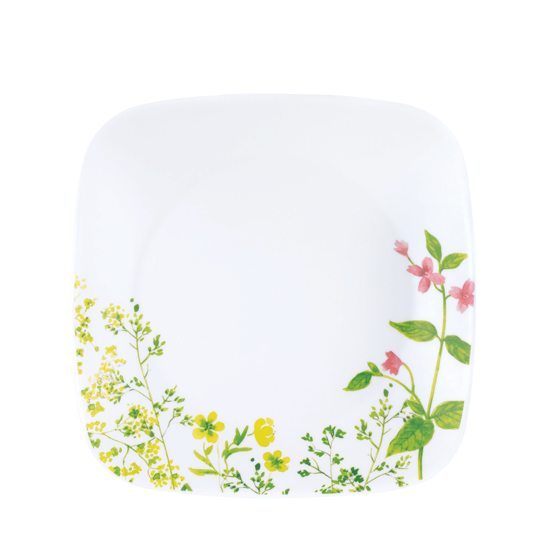 Square Round Luncheon Plate Provence Garden