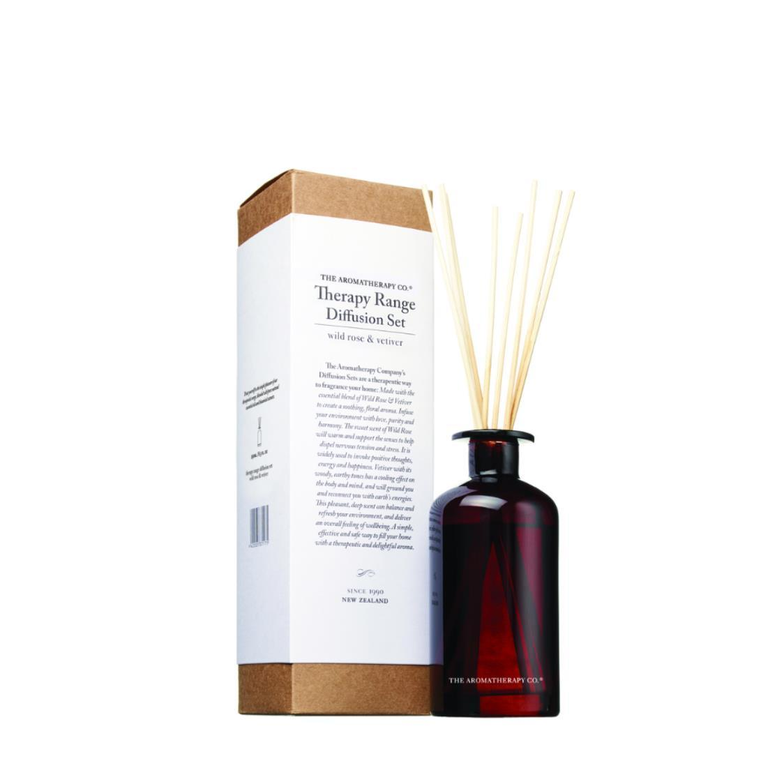 Therapy Diffuser 250ml Rose  Vetiver