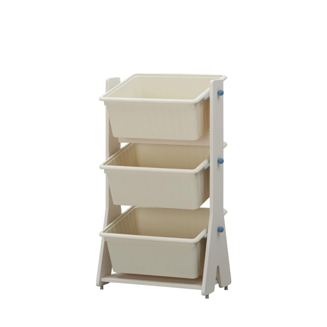 Iloom Tinkle Pop Toy Storage IVKS Ivory Sky Blue