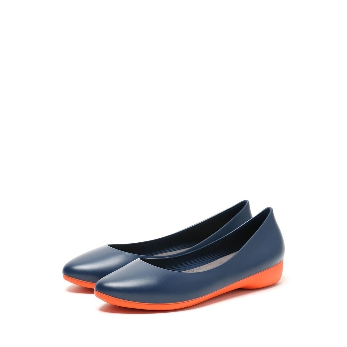 F3 Flat-Pointed Heel height 3cm Deep Navy
