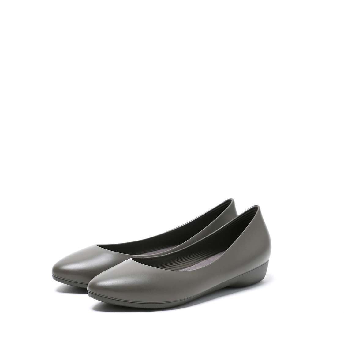 F3 Flat-Pointed Heel height 3cm Ash Grey