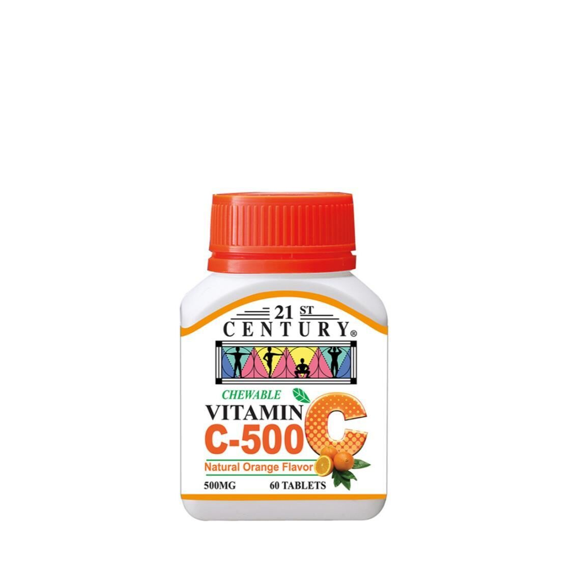 C500mg Orange Chewable 60s