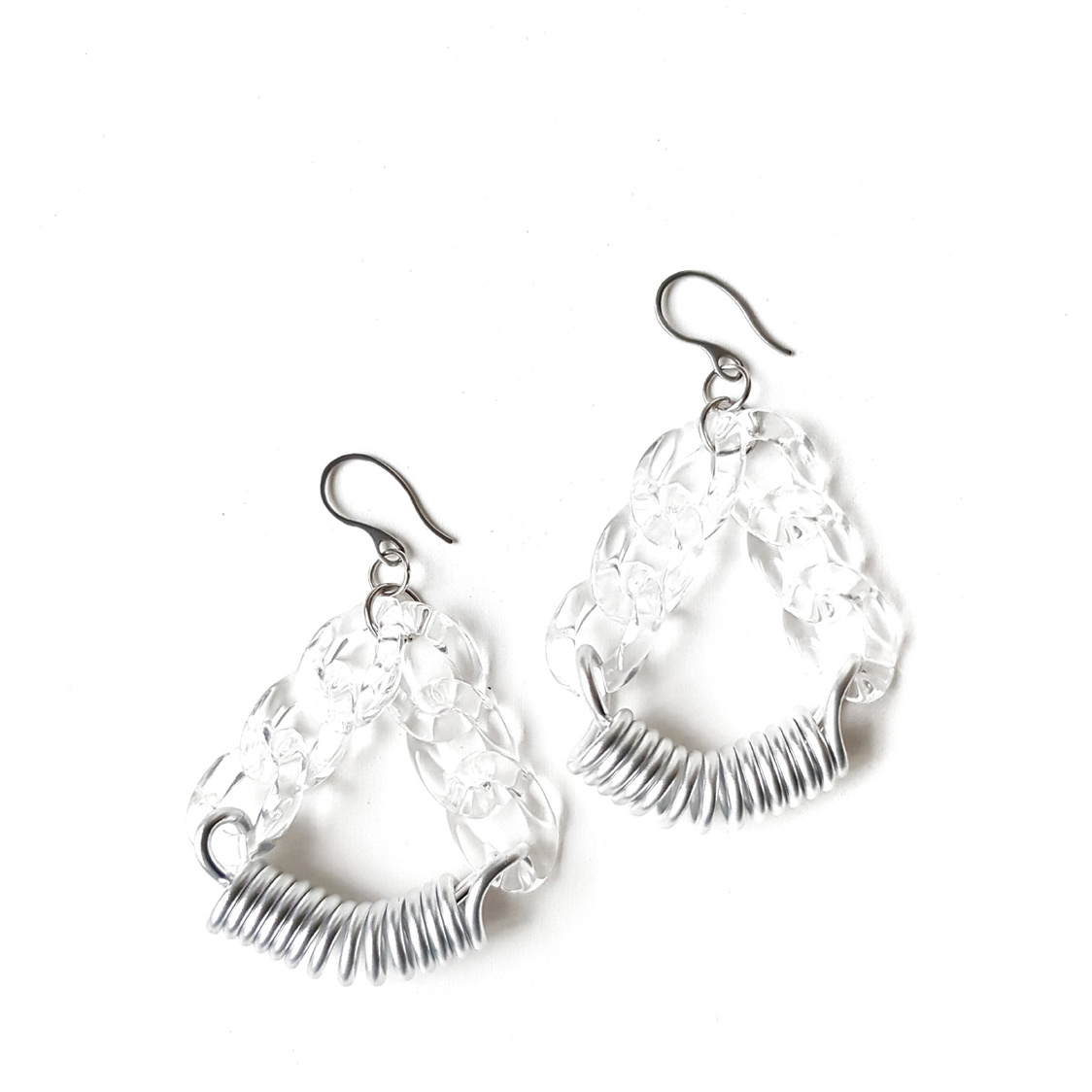 Mila Earrings Silver