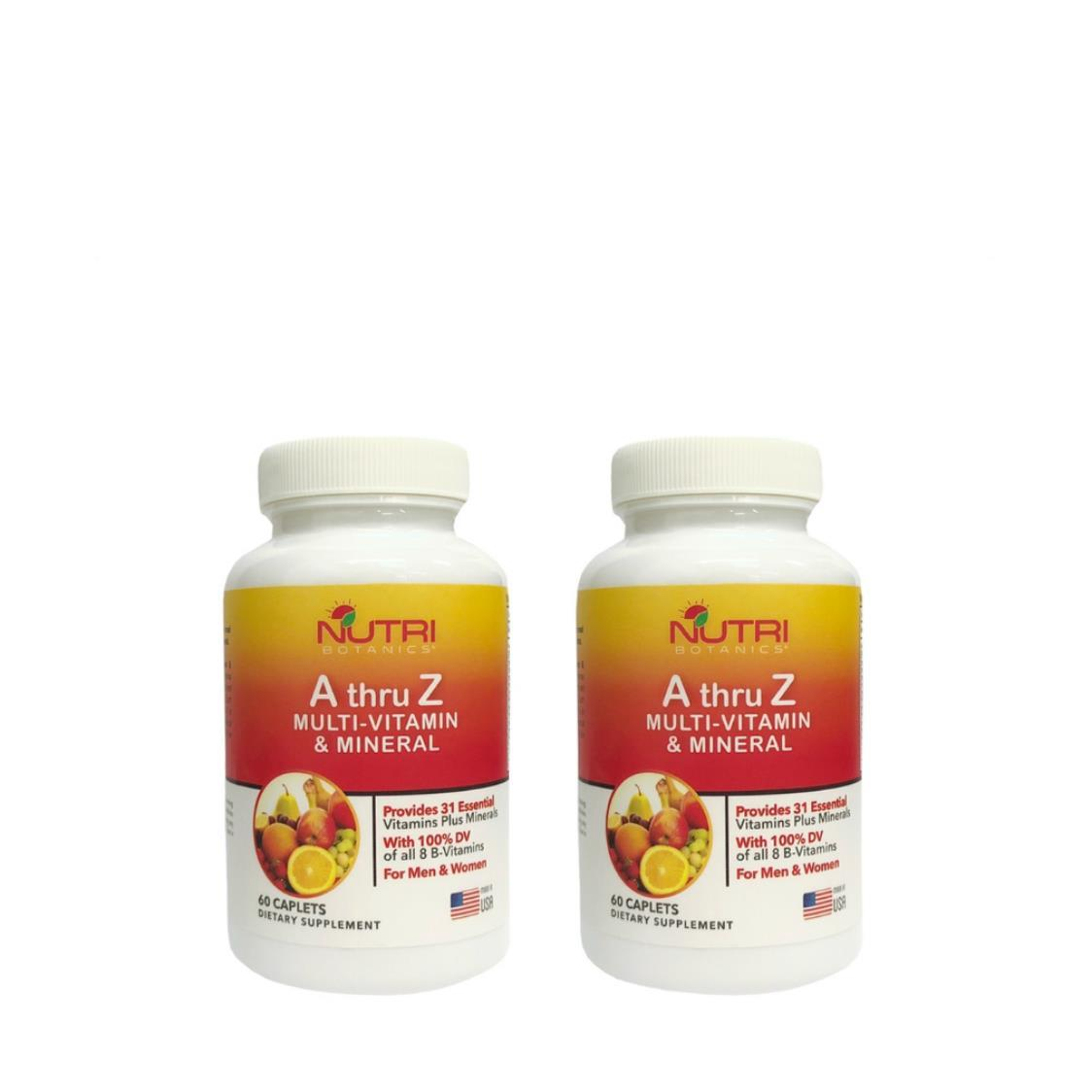 A Thru Z Multivitamin  Mineral 2 x 60s Tablets