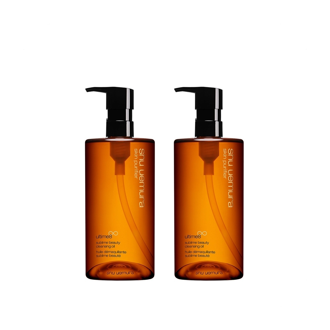 Ultime8 Sublime Cleansing Oil Duo Set