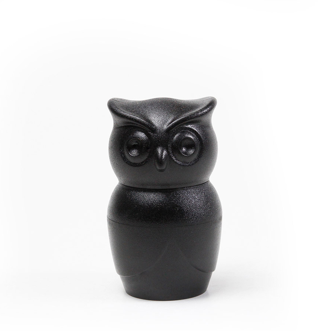 Black Tasty Owl SaltPepper Grinder
