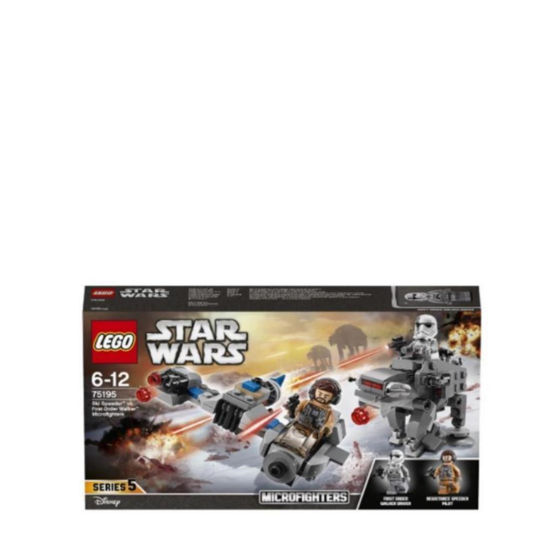 Ski Speeder Vs First Order Walker Mic 75195