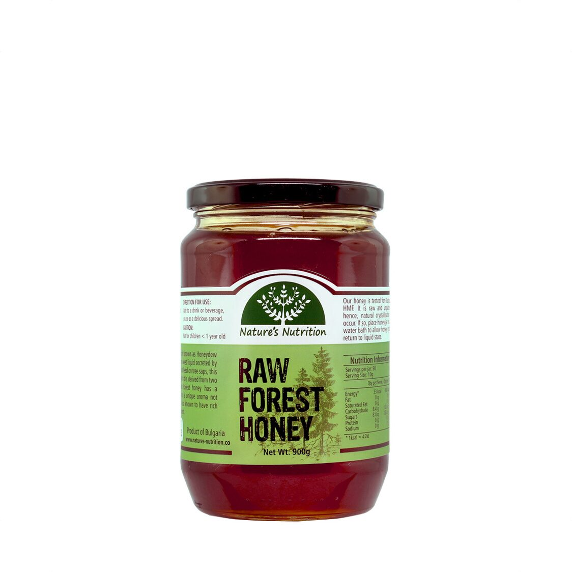 Raw Forest Honey 900g