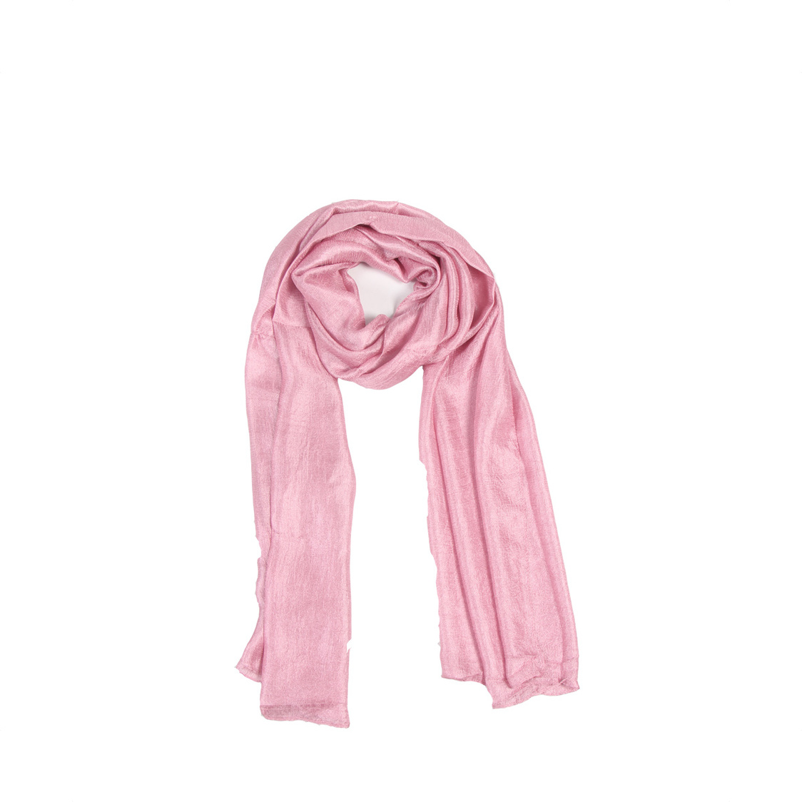Pink Polyester Scarf