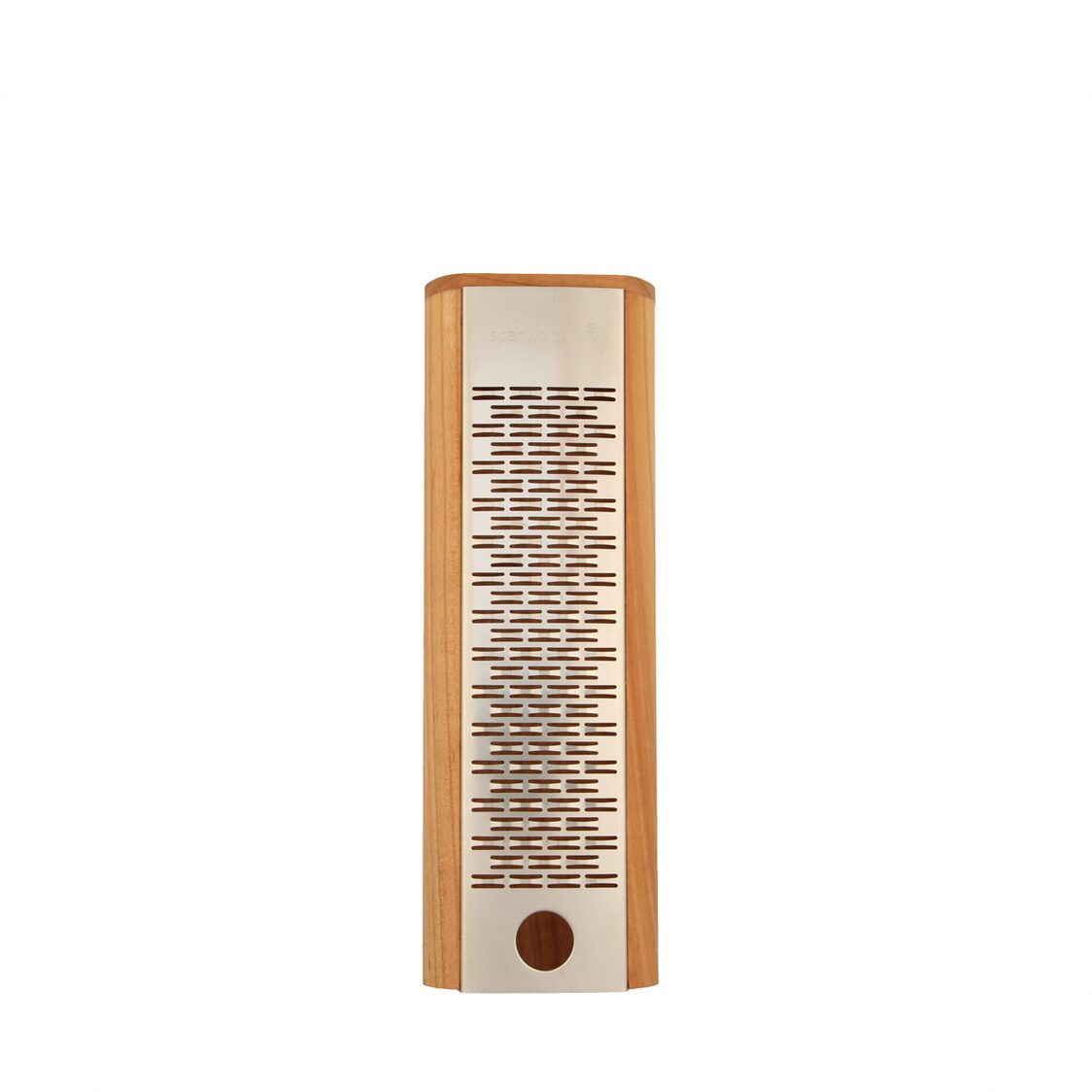 Cherrywood Cheese Grater With Finger Hole