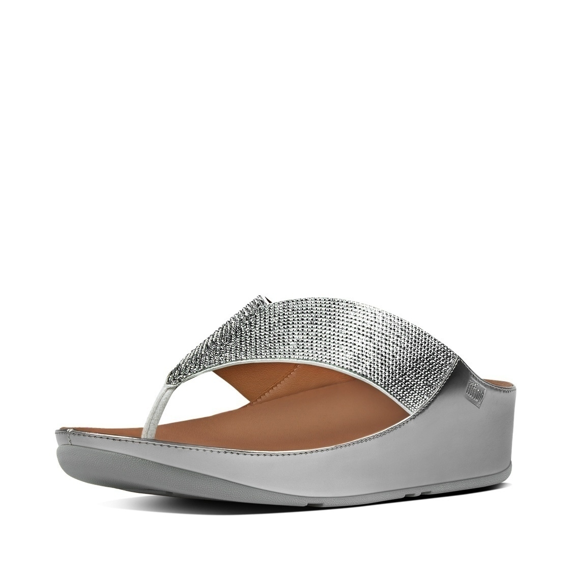 Crystall Toe-Thong Sandals