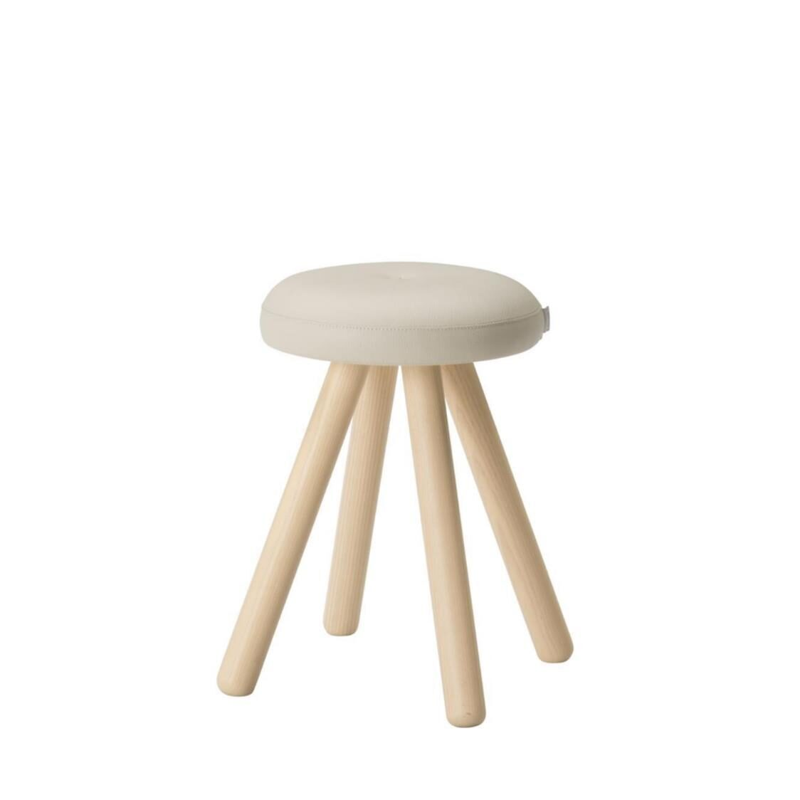 iloom Miel Gallery Wooden Round Stool CCLBG