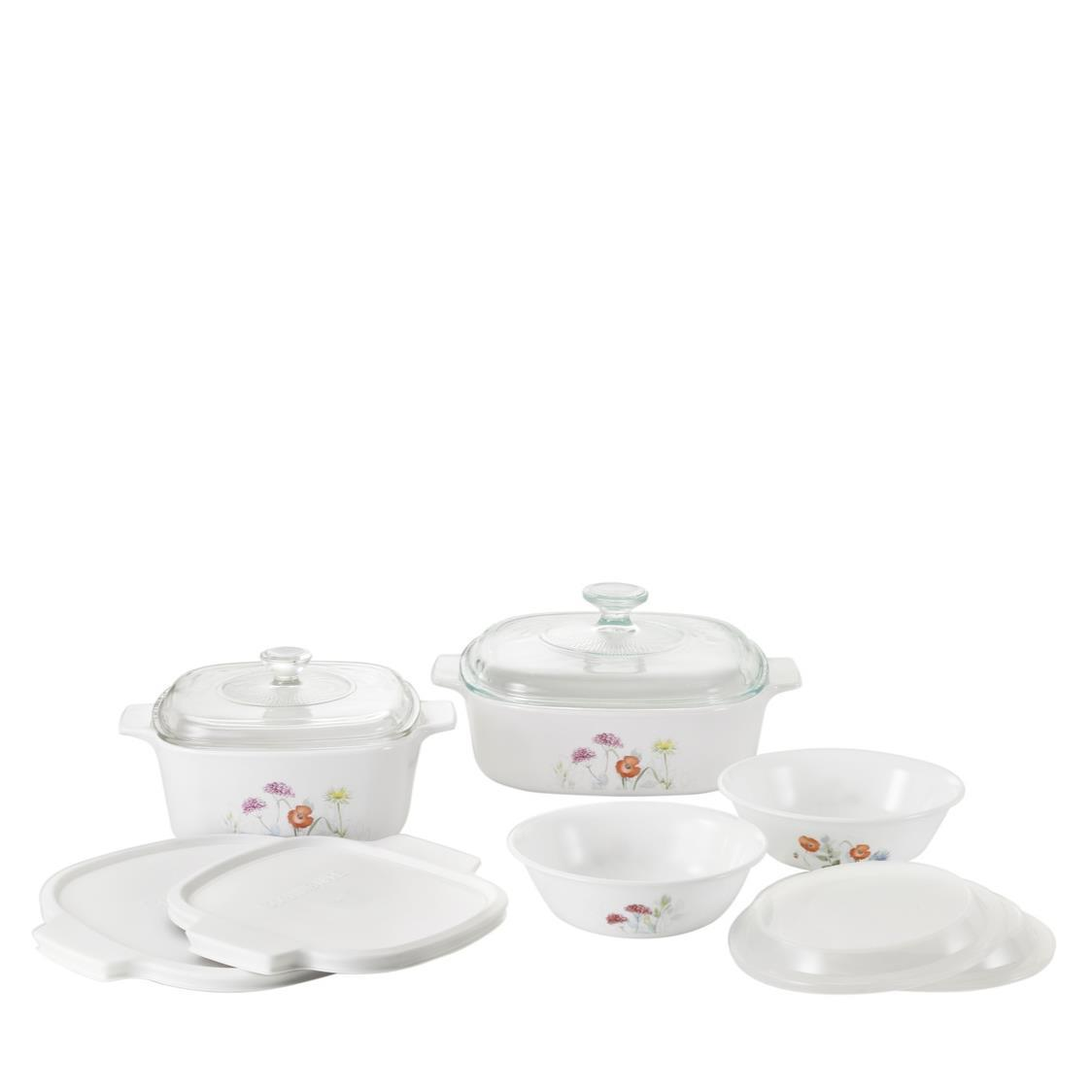 10pc Set Daisy Field
