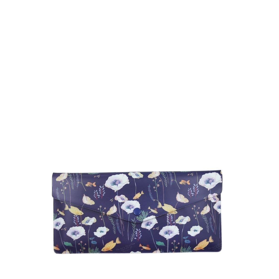 Willow Soft Passport Wallet Navy