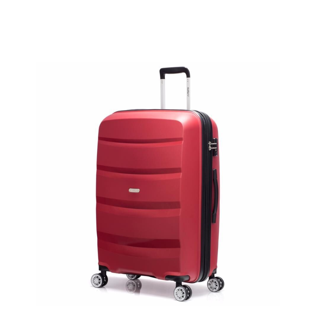 Hino 4 Wheel Polyproplyene Hardcase with TSA lock In Red