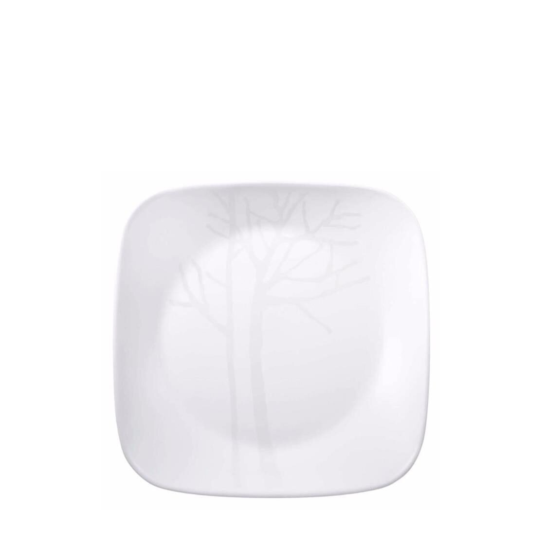 Corelle Square Round Luncheon Plate Frost