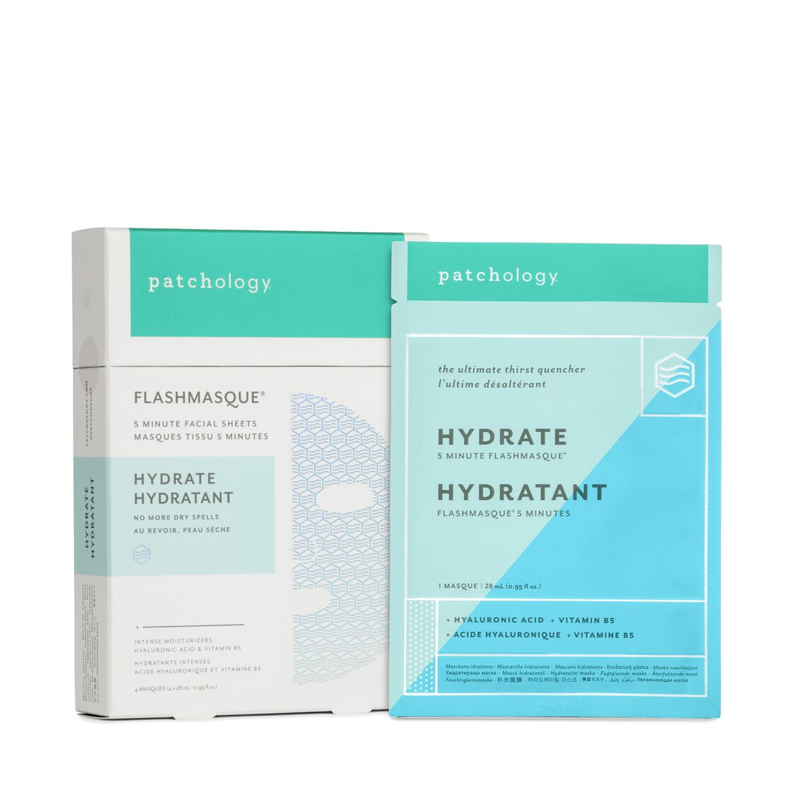 Flashmasque Hydrate - 4-Pack