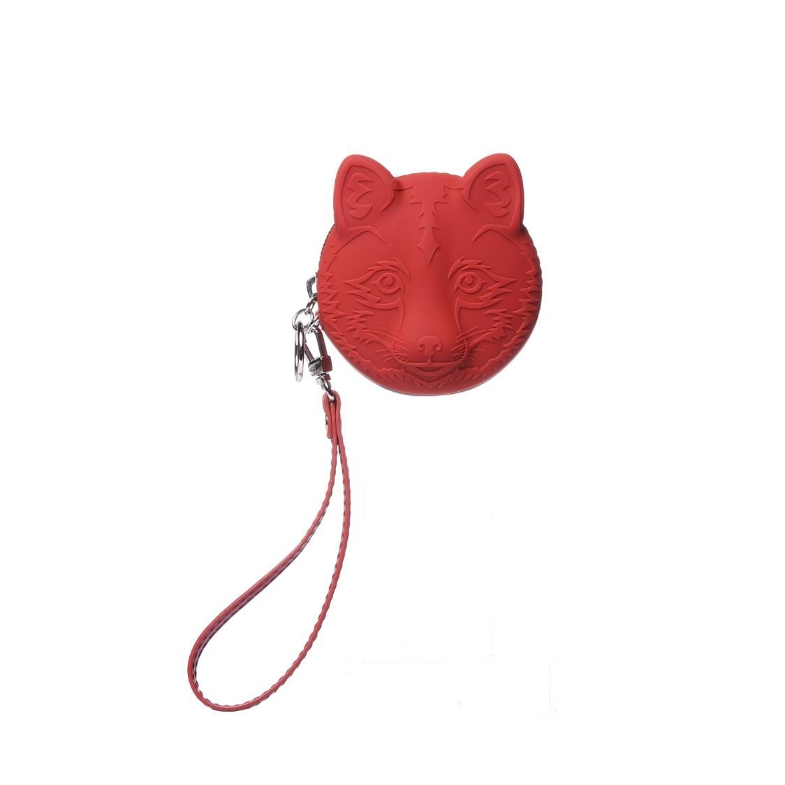 Silicone Coin Pouch Red