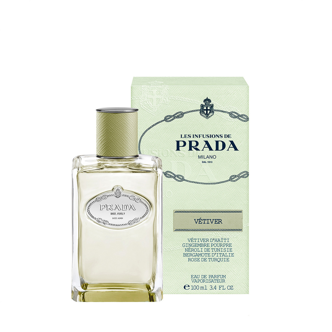 Les Infusions Vetiver EDP 100ml