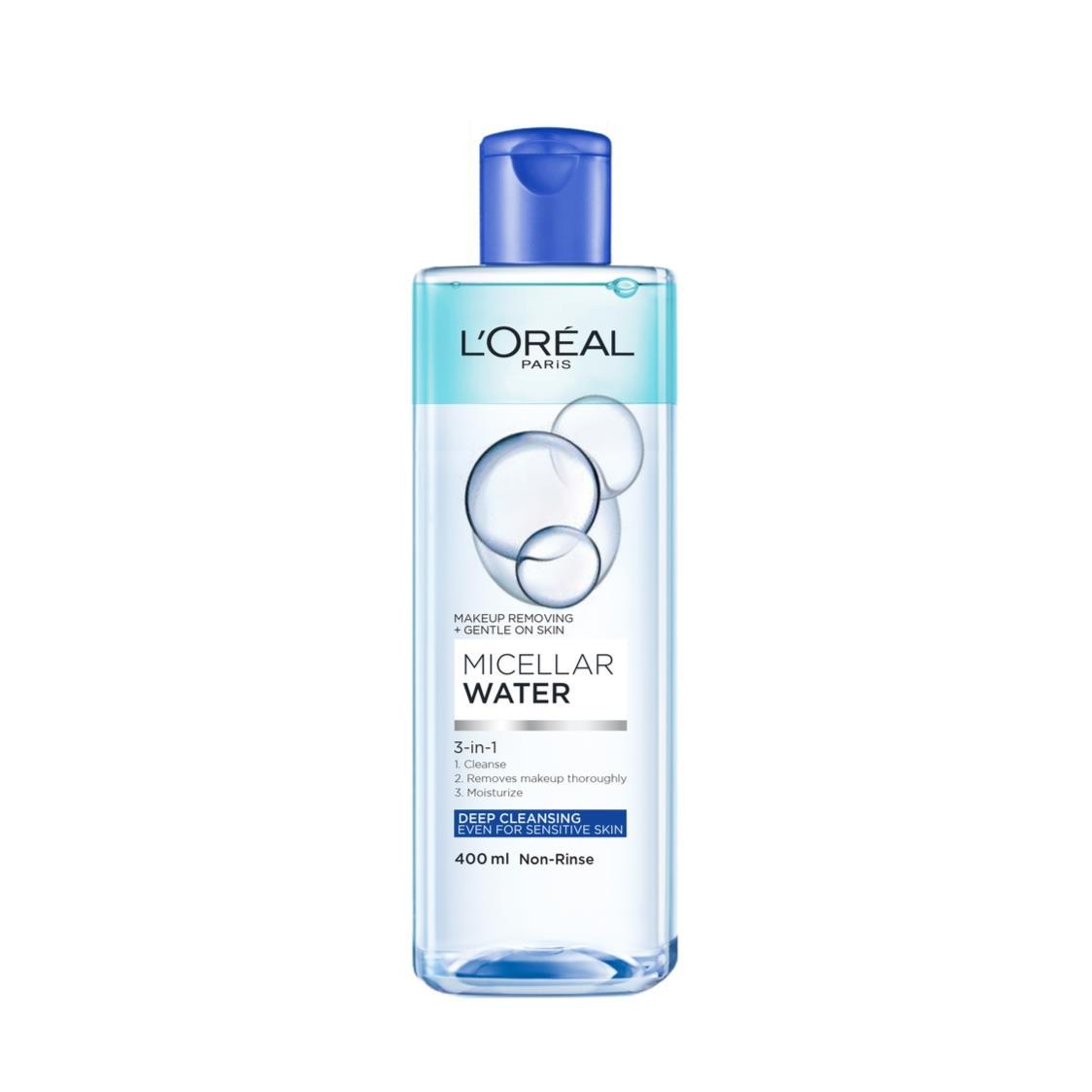 Pure Active Micellar Water 3 in 1 Deep Cleansing 400ml
