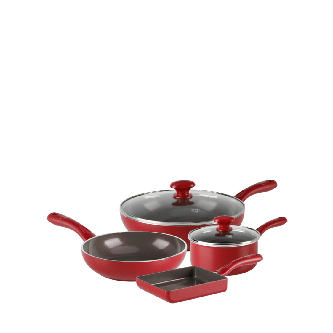 Greenpan Greenchef 6pc Set with Ceramic Coating
