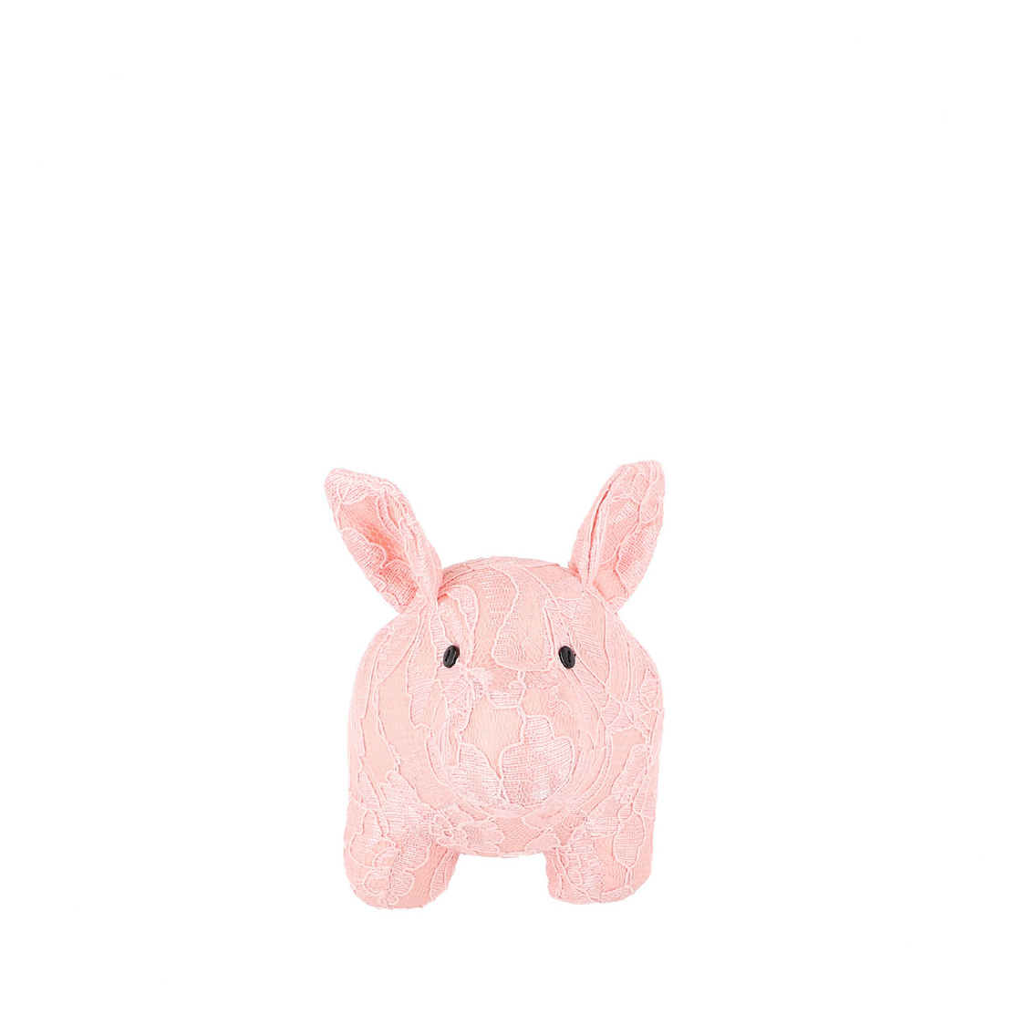 Mascot Pigsy Decoration in Pink Lace
