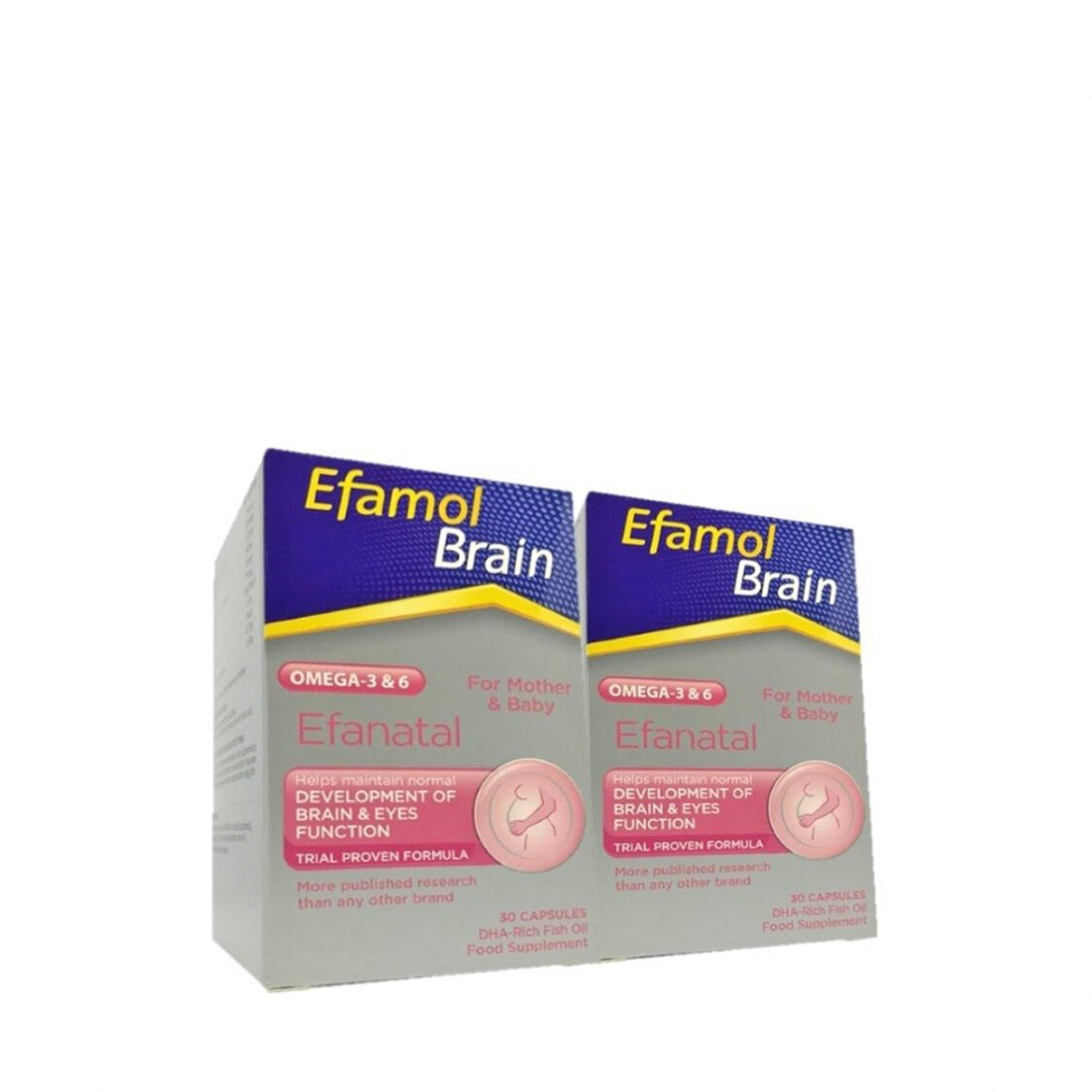 Efanatal Domino Twin Pack 2X30s