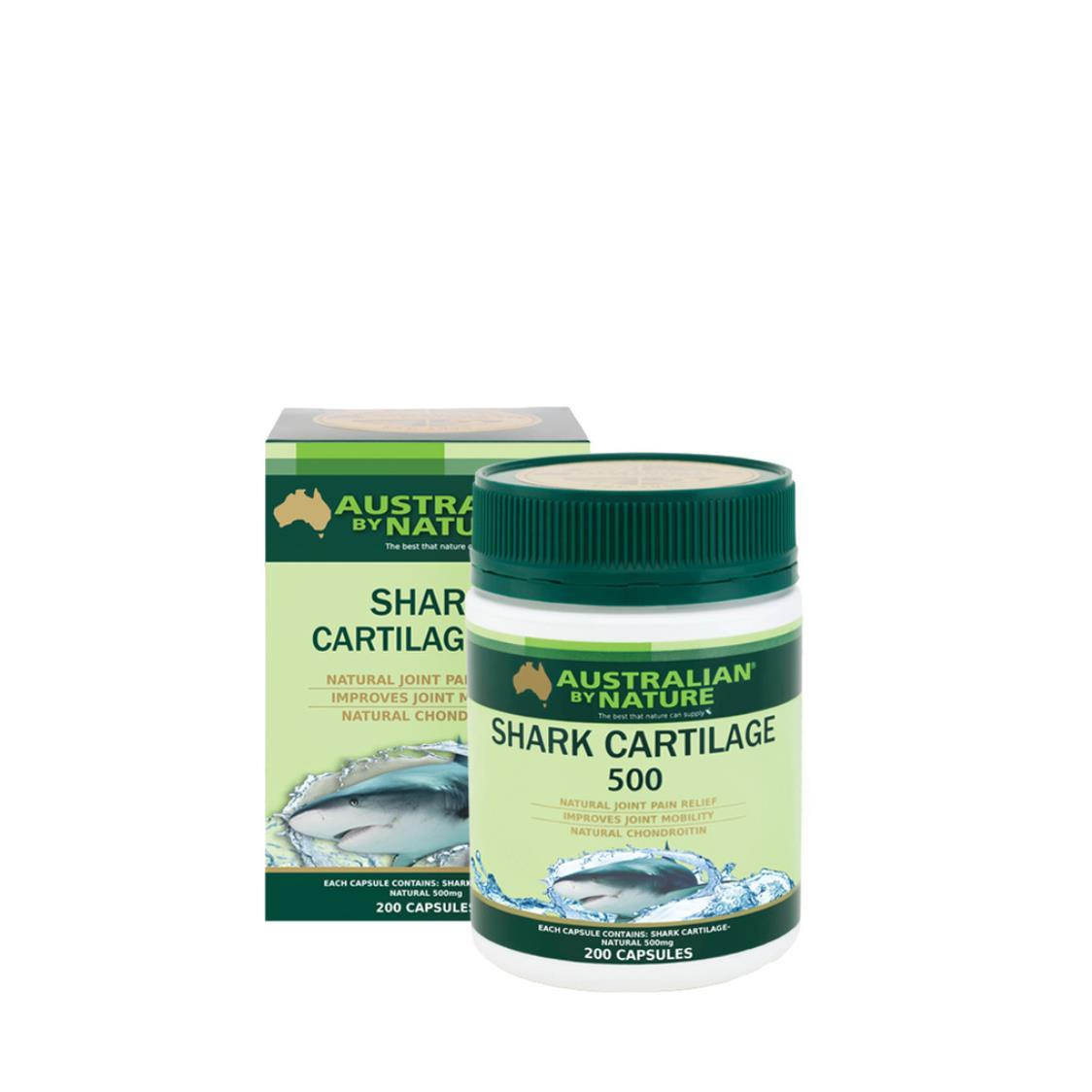 Shark Cartilage 500mg 200 Capsules