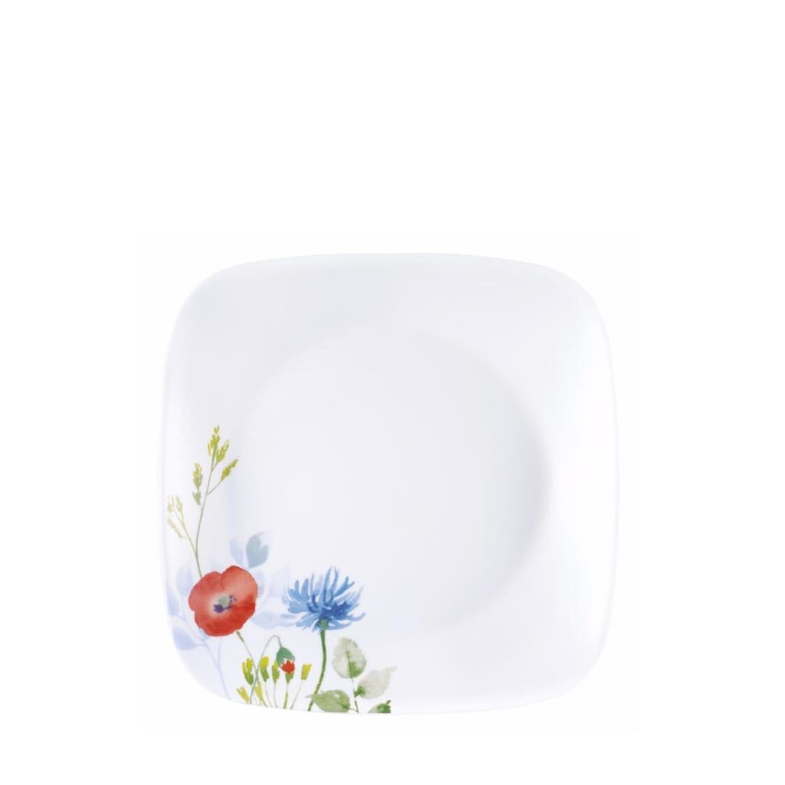Square Round Luncheon Plate Daisy Field