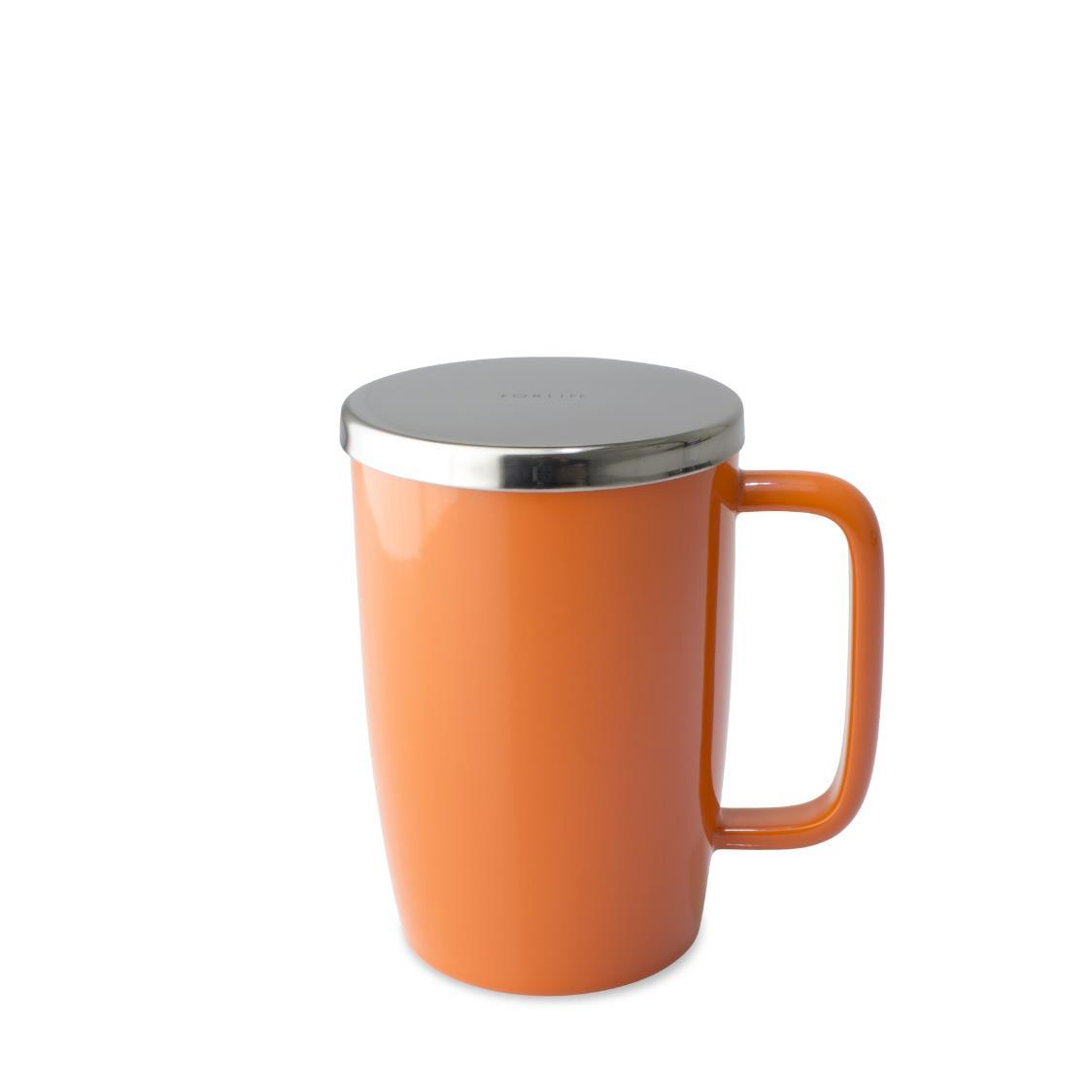 Dew Brew-in-Mug w Infuser  Lid 532ml FL610-CAR