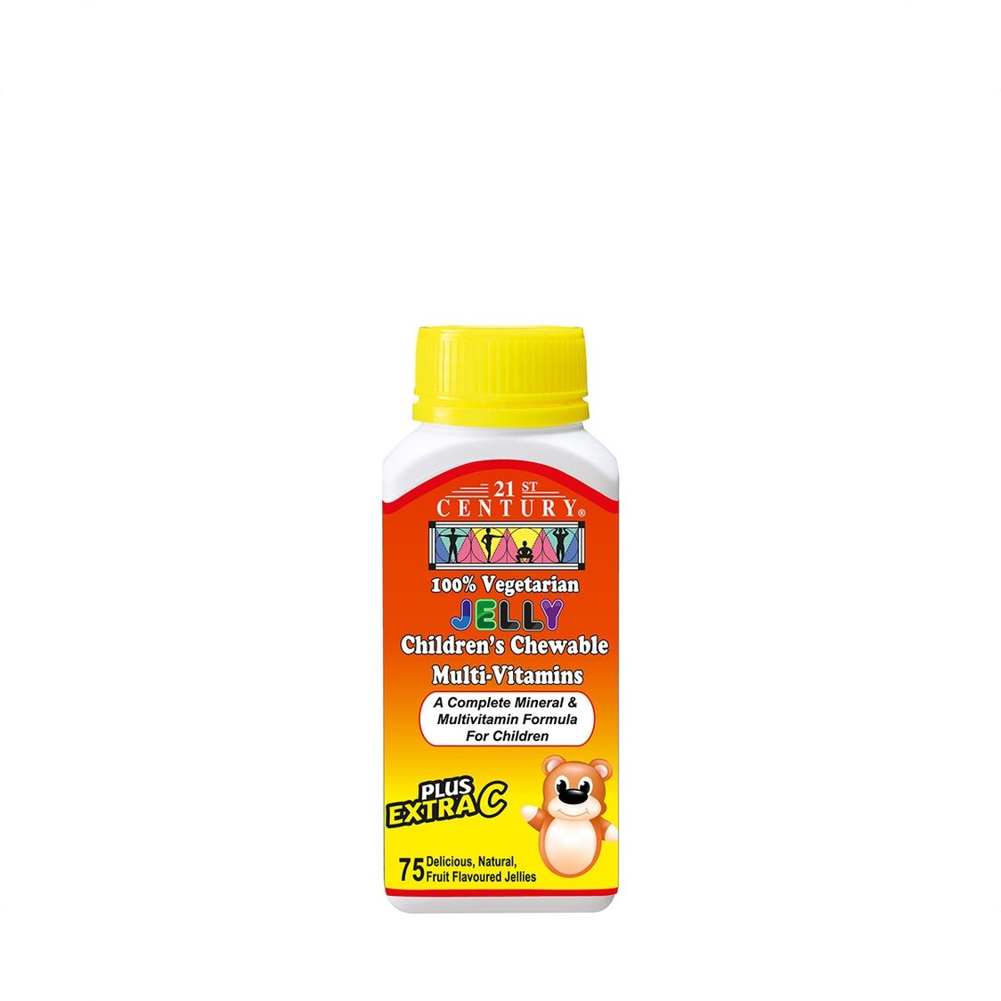 Vegetarian Childrens Chewable Multivitamins 75s