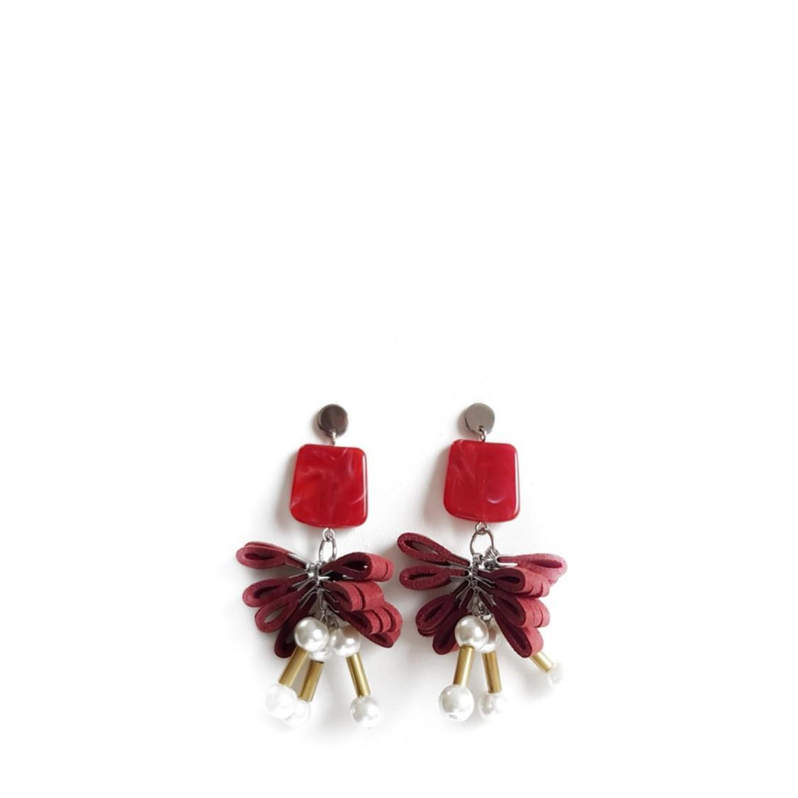 ISA Earrings RED