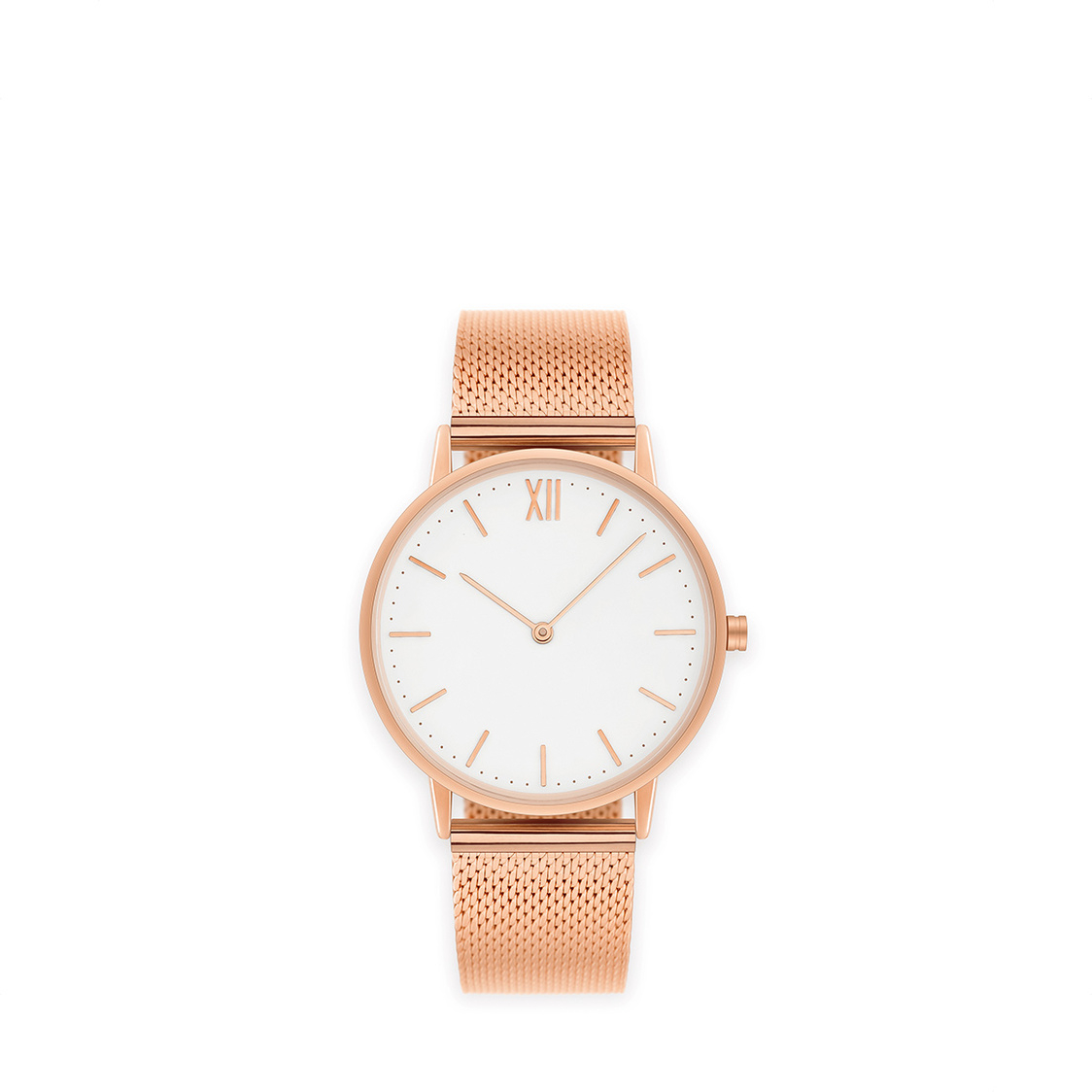 Signature 40 Rose Gold - Stainless Steel Mesh
