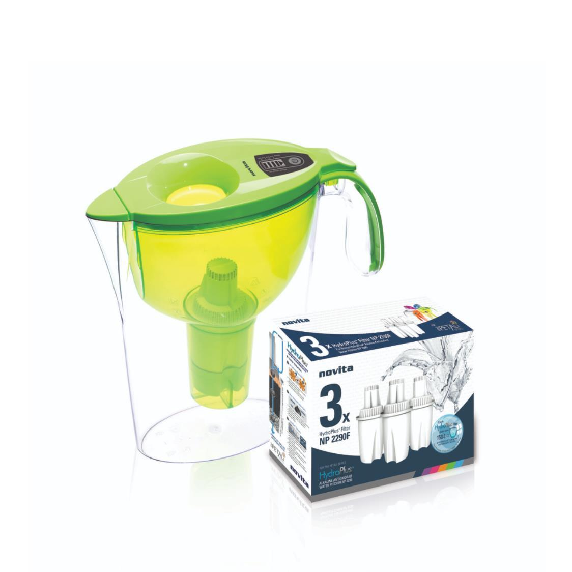 Petali Series HydroPlus Water Pitcher NP2290 Bundle Green
