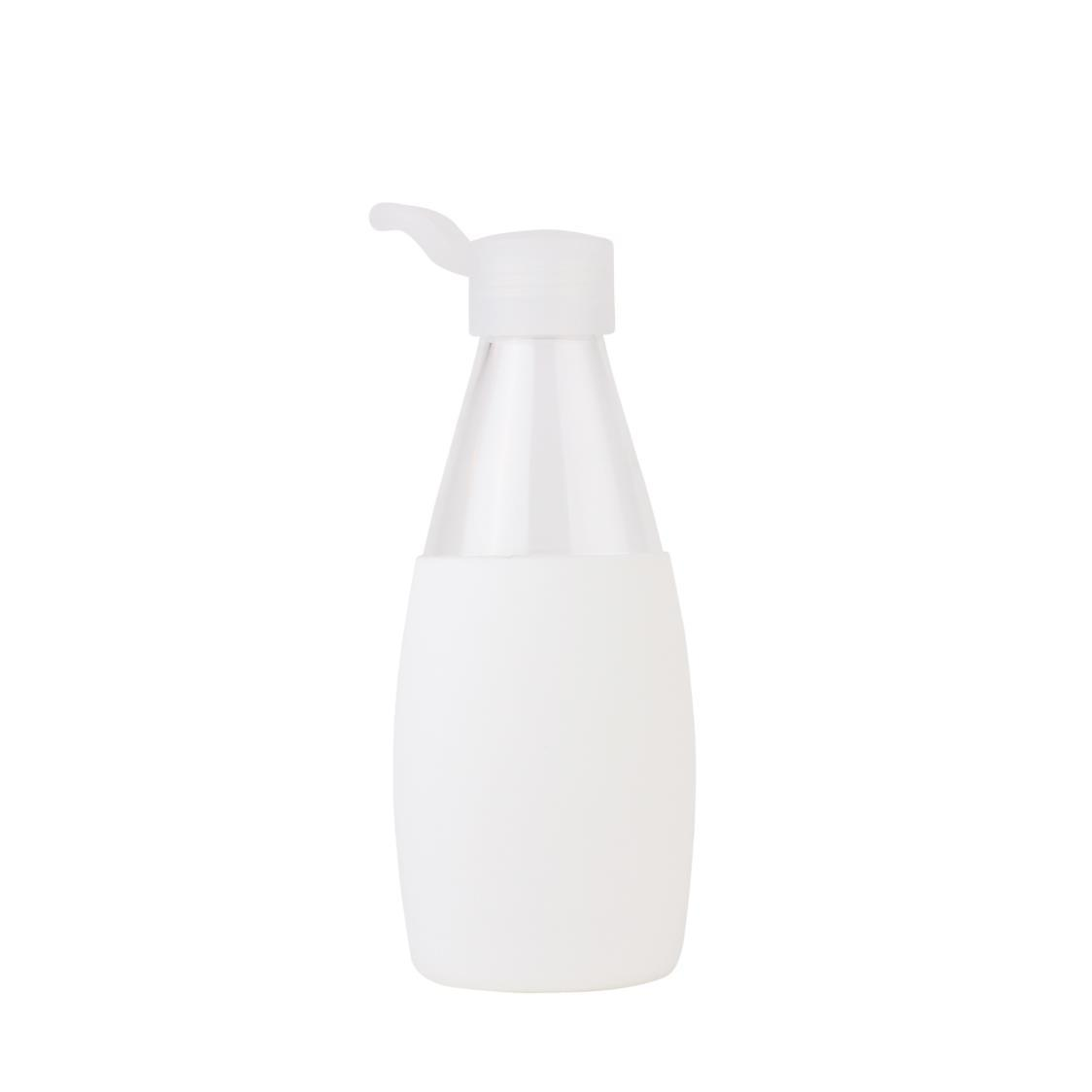 Classic Glass Water Bottle White 500ml