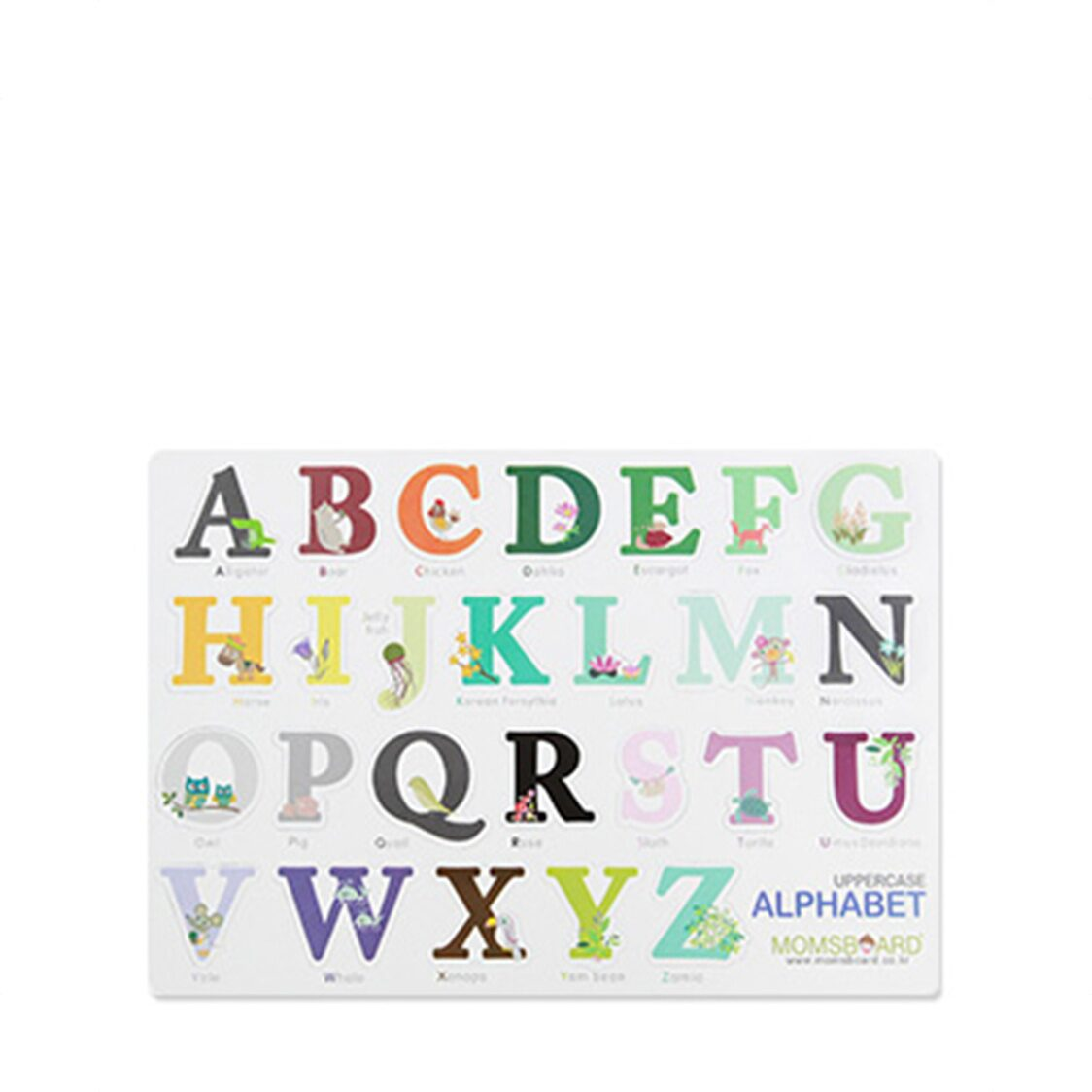 Magnetic Words - Uppercase