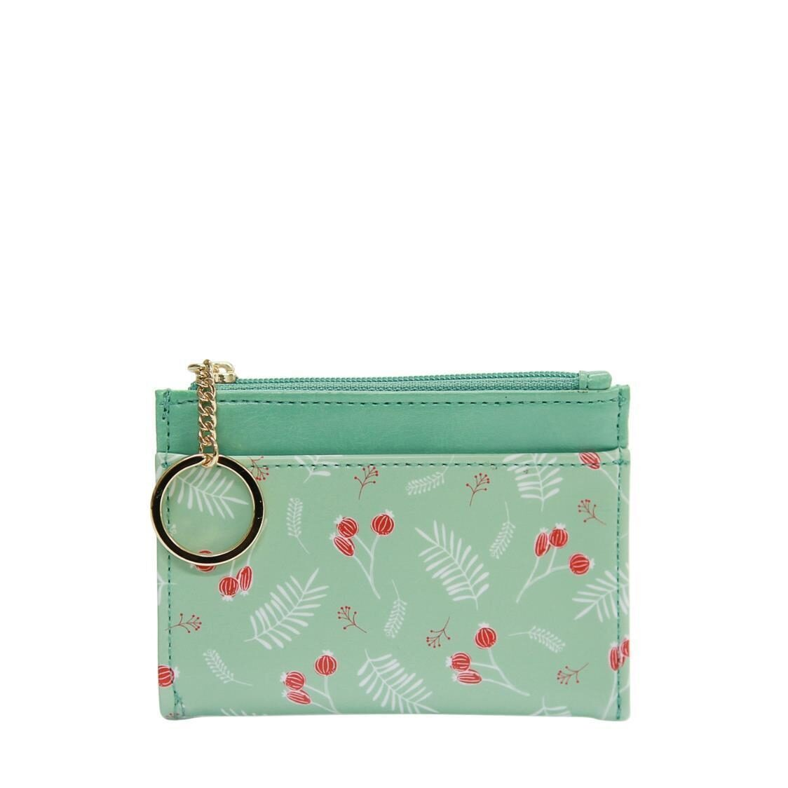 Willow Ver4 Keyring Card Wallet Mint Berry