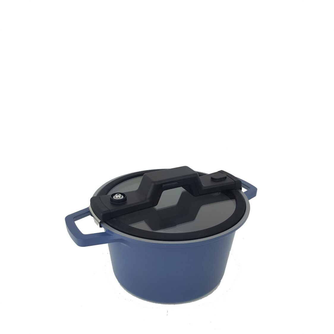 Neoflam SmartCook Xtrema Induction 24cm Low Pressure Cooker Blue