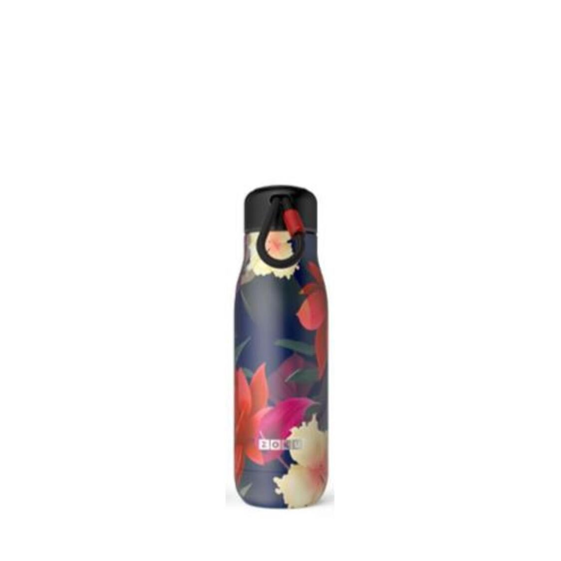 Stainless Steel Midnight Floral Bottle 18oz
