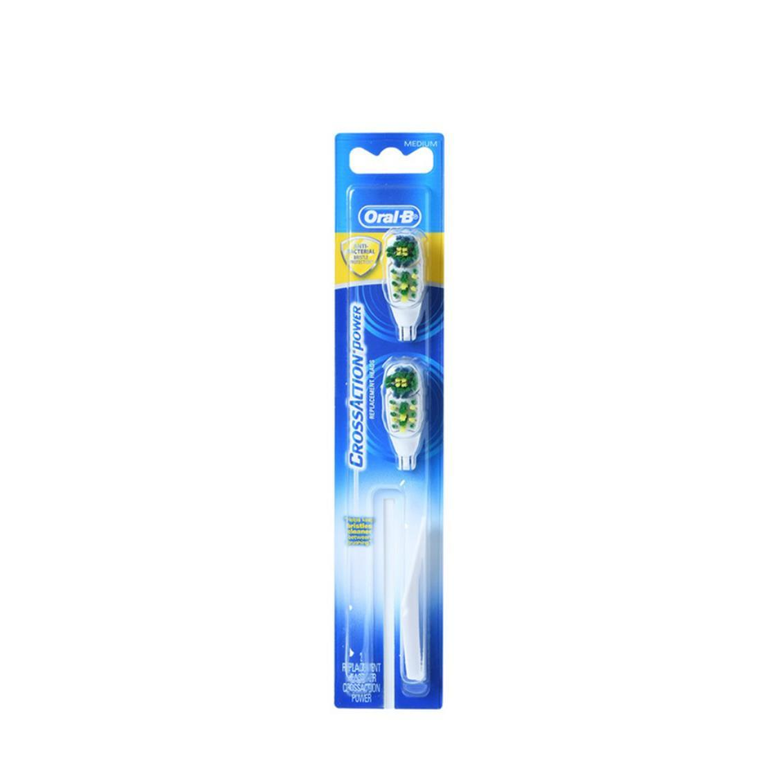 Oral B Crossaction Power Refill 2S Soft