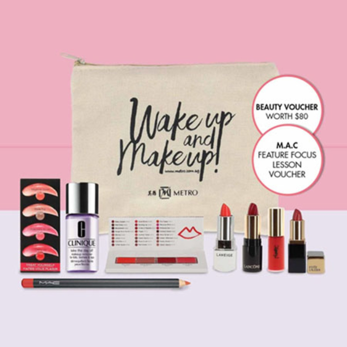 Beauty Bag - The Pucker Up Edition