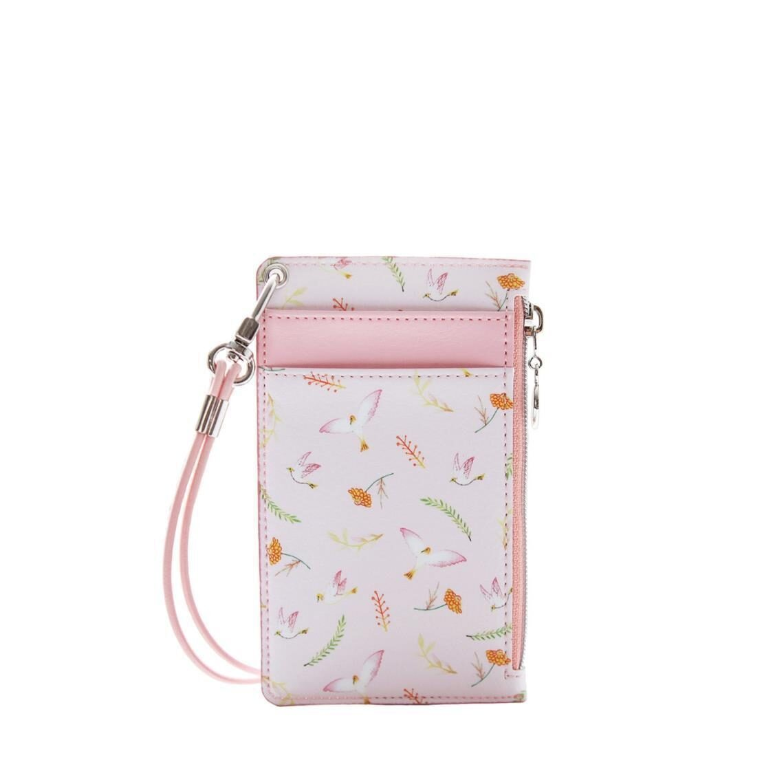 The Willow Story  Neck Zipper Case ver3 Pink