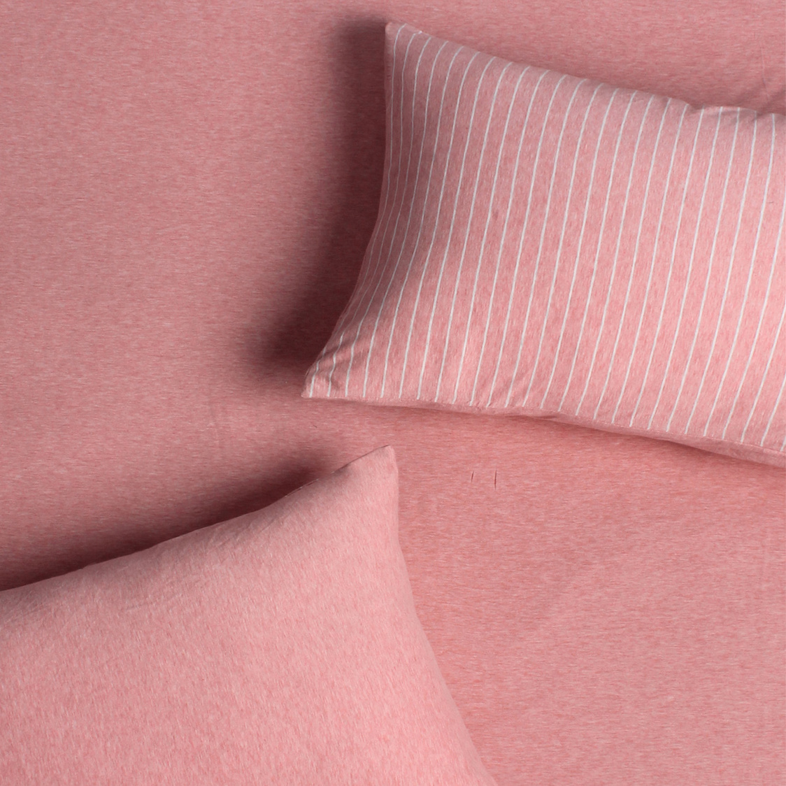 Jersey 700TC Fitted Sheet Set Pink