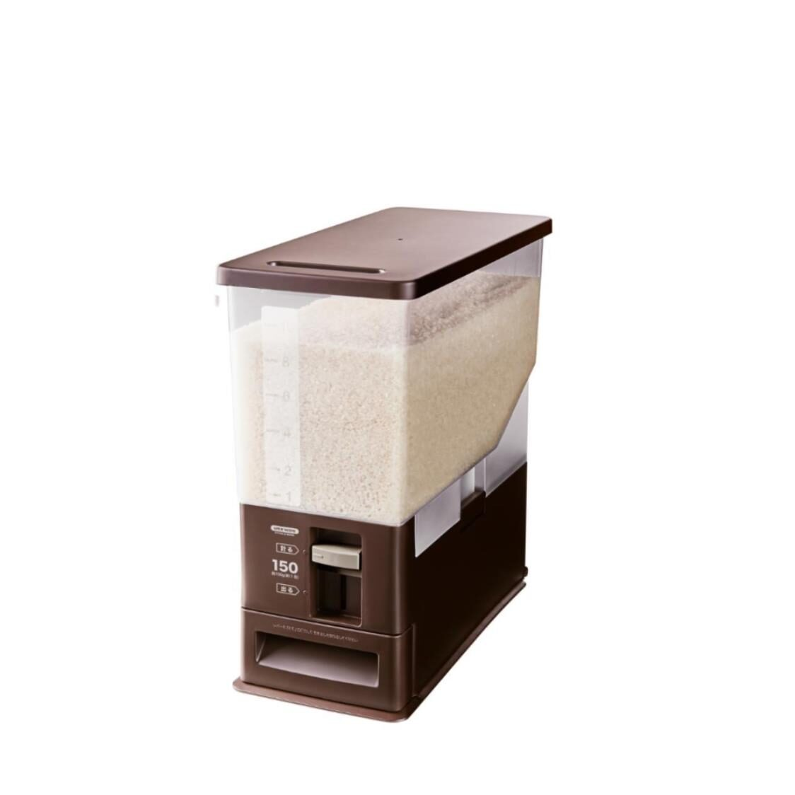 Unix Ware Rice Stocker Brown 12kg 7503