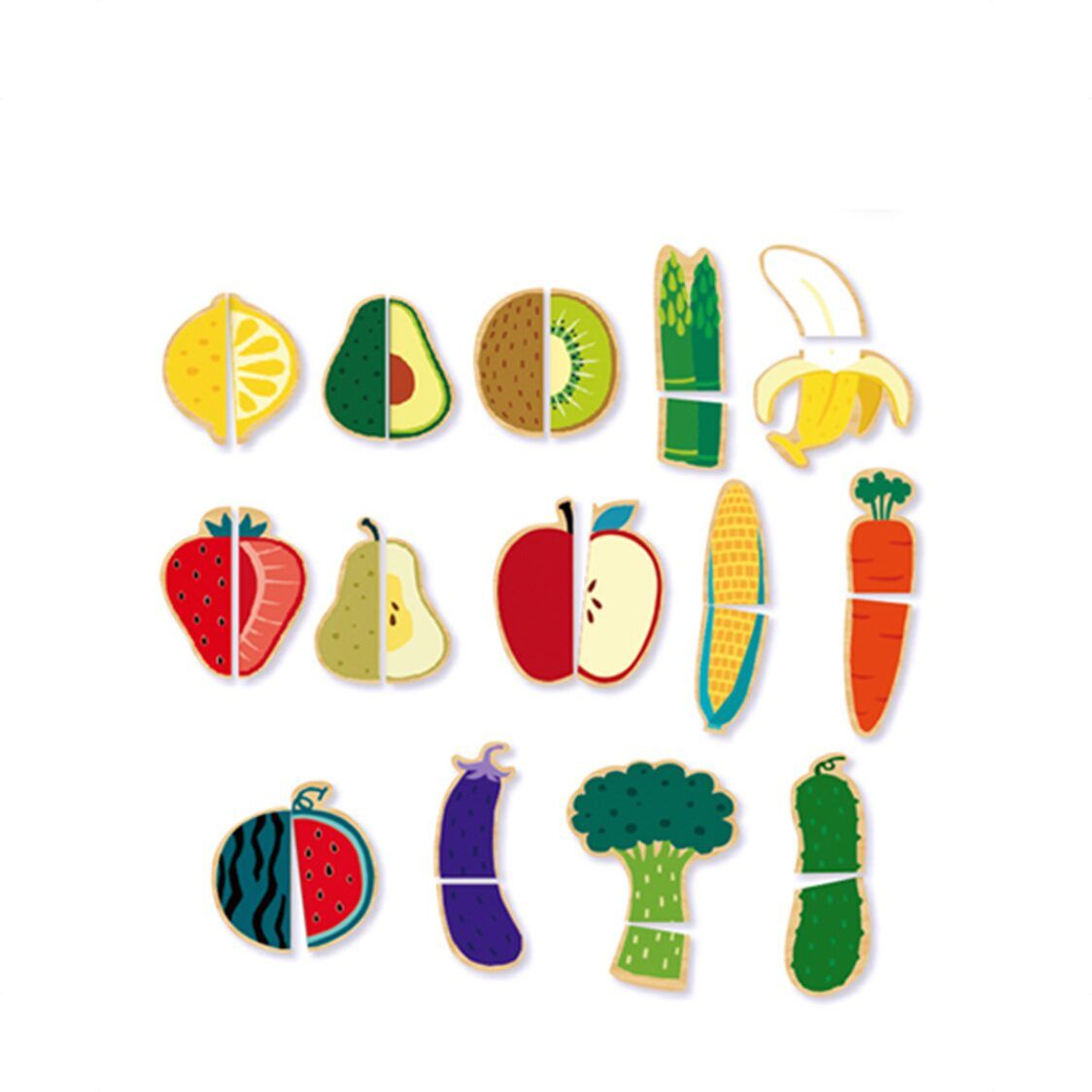 Funny Puzzle - Fruit  Vegetable